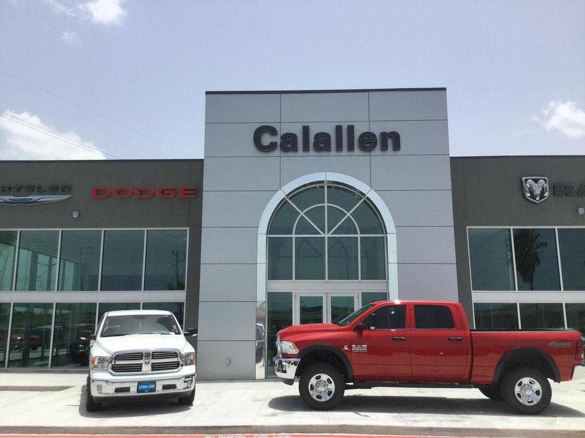 Renovation of a car dealership