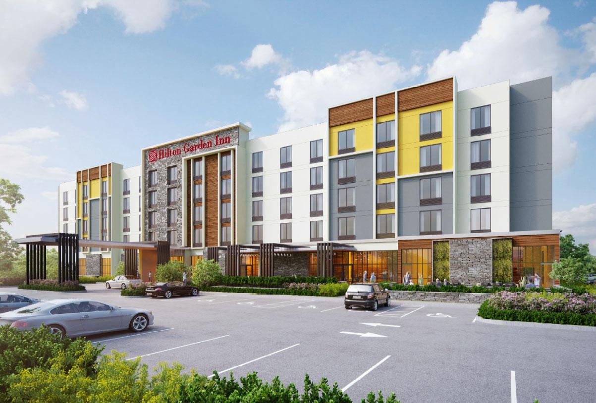 Hilton Garden Inn design build project