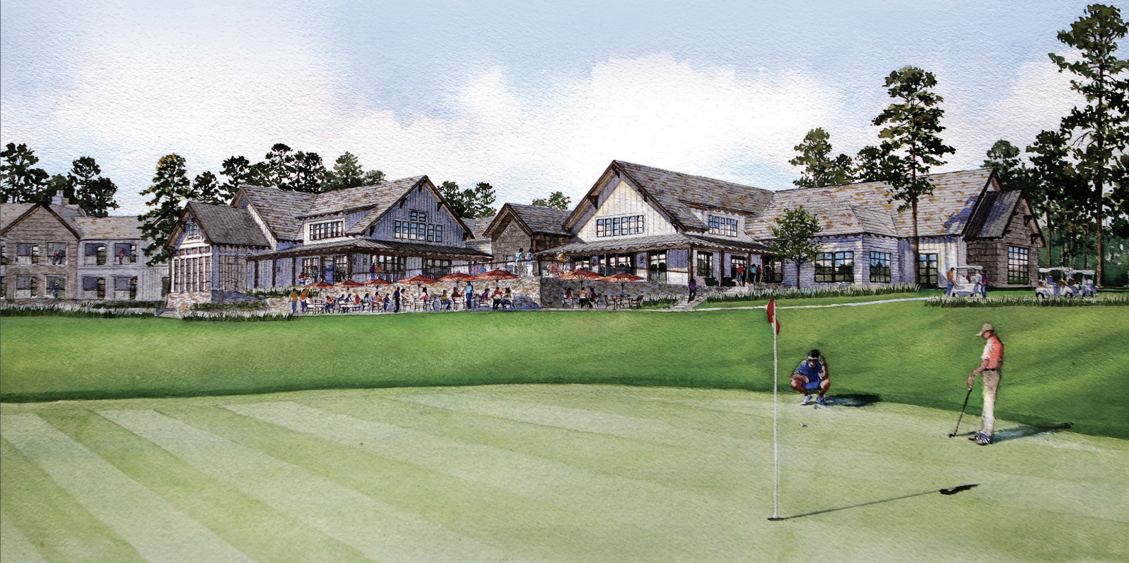Parkway breaks ground on a clubhouse at Tiger Woods-designed golf course