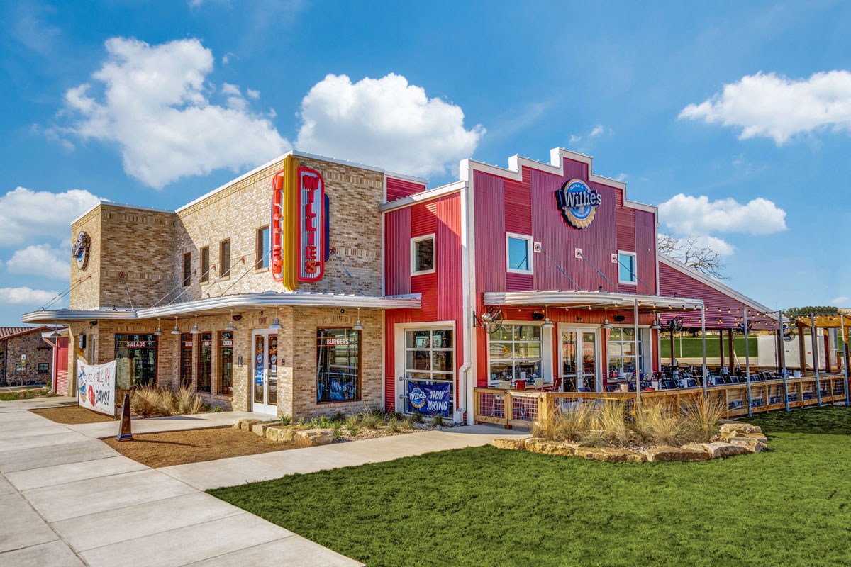 Willie's Grill & Icehouse – now open