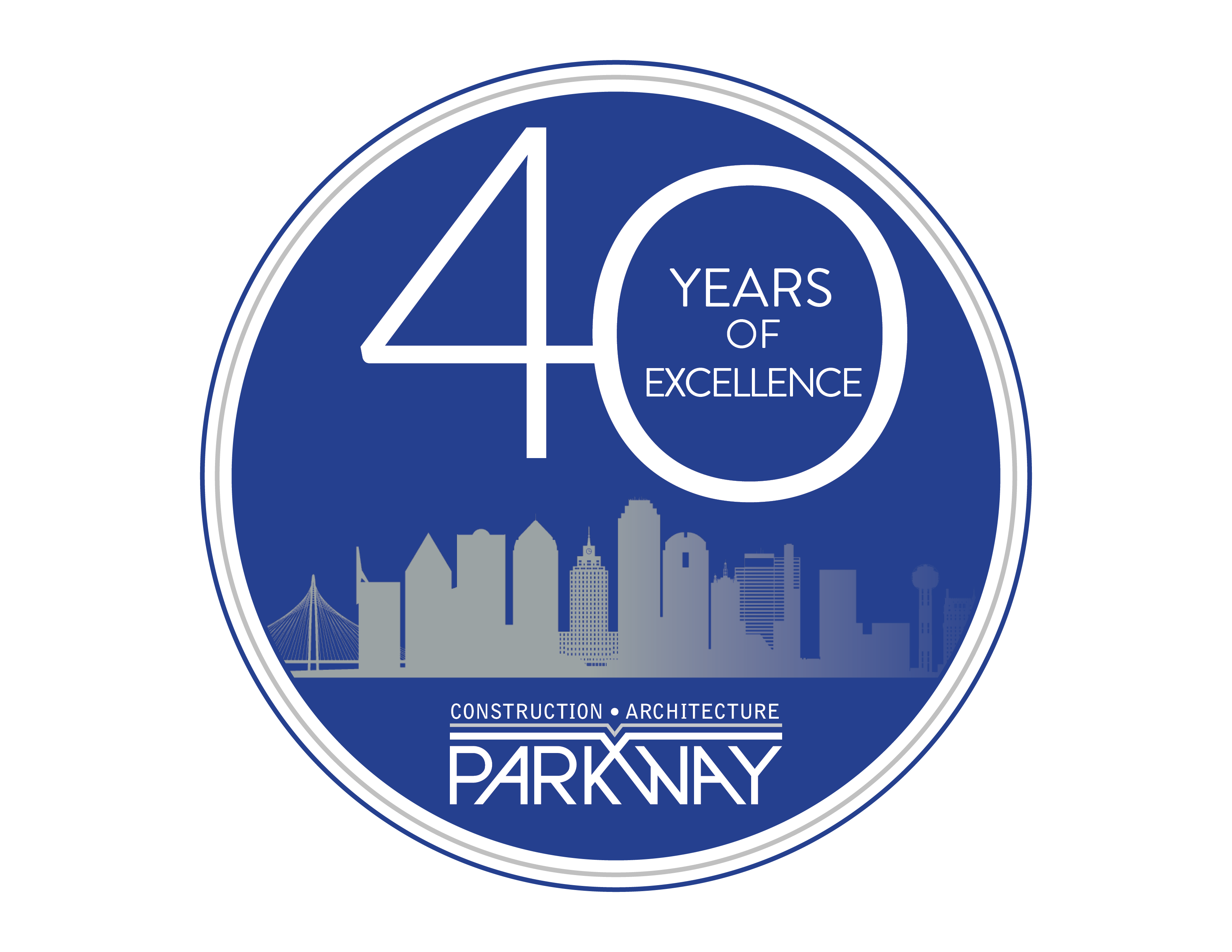 Honoring the Past. Building the Future. Parkway C&A Celebrates 40 Years.